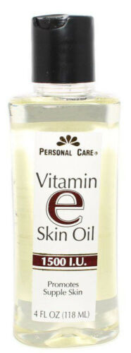 Personal Care Vitamin E Skin Oil 1500 I.U. 4oz FRESH PHARMACY STOCK!