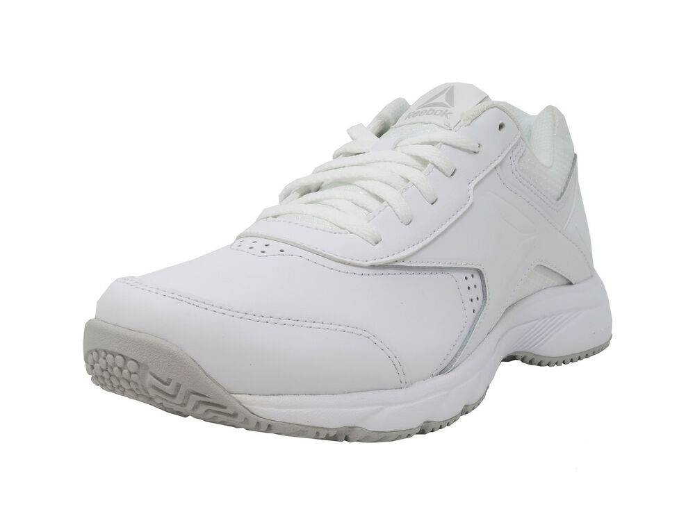 4d4f0a861ee139 Details about REEBOK Work N Cushion 3.0 White Wide MemoryTech Sneakers Lace  Up Women Shoes