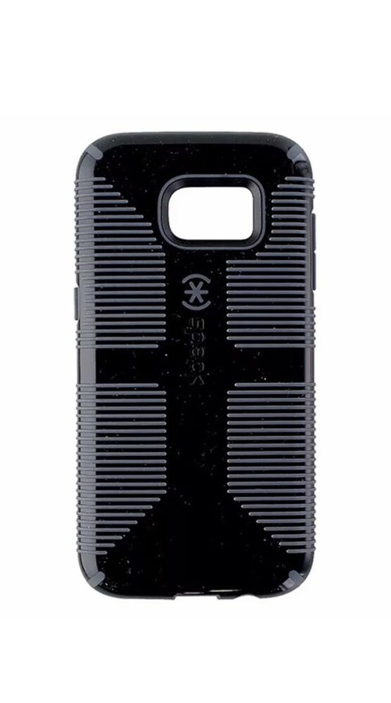cheap for discount 077eb 87492 Speck CandyShell Grip Case Cover for Samsung Galaxy S7 Edge - Black / Gray  | eBay