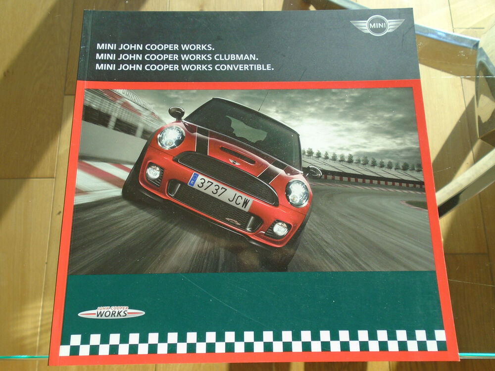 Mini John Cooper Works Range Brochure Mar 2010 Ebay