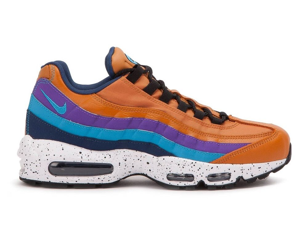 low priced 8d9f7 a5c56 Details about Nike Air Max 95 OUTDOOR PACK MONARCH BROWN TAN GRAPE BLUE  PURPLE 538416-800 9.5