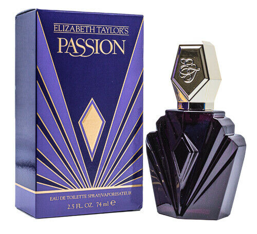 Passion by Elizabeth Taylor 2.5 oz EDT Perfume for Women Brand New In Box