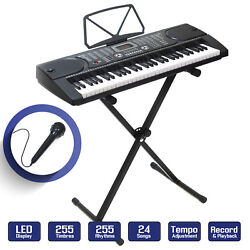 Kyпить Digital Piano Keyboard 61 Key - Portable Electronic Instrument with Stand на еВаy.соm