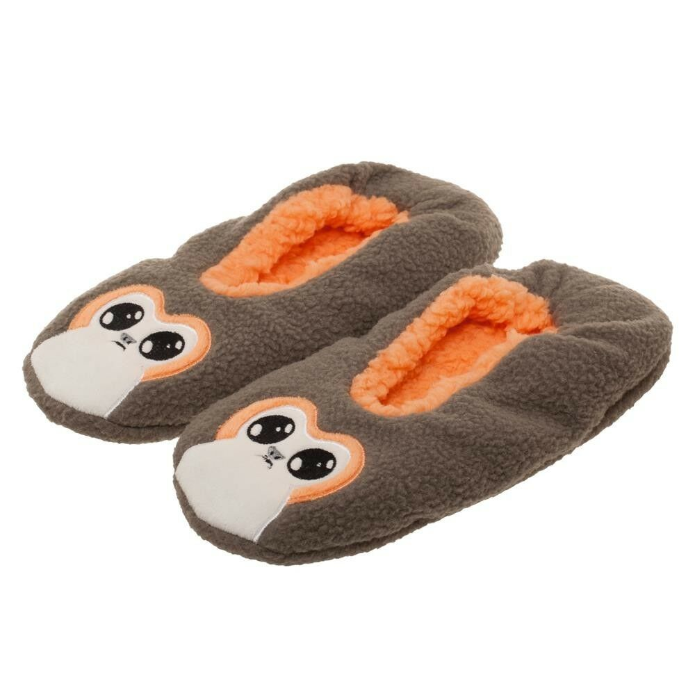 bb86397cd6 Details about PORG Cozy Cozeez Slippers Socks Faux Fur Lining Warm Winter  Star Wars Creature