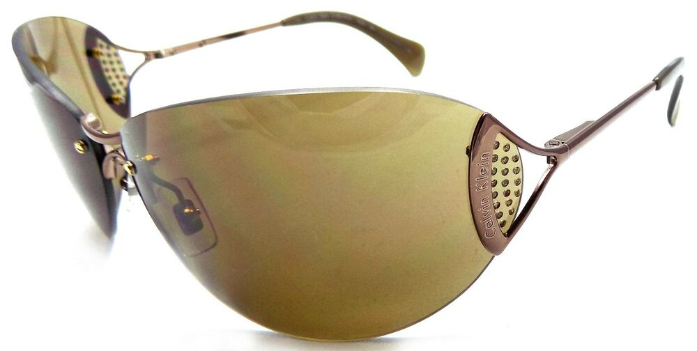 15fd62df74d2 Details about Calvin Klein Collection Sunglasses CK 453S 551 72x13x110 Brown  / Brown ITALY