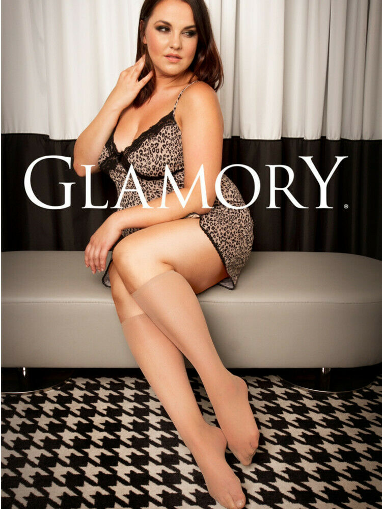 b73267d752f Details about Glamory Fit 20 Knee Highs