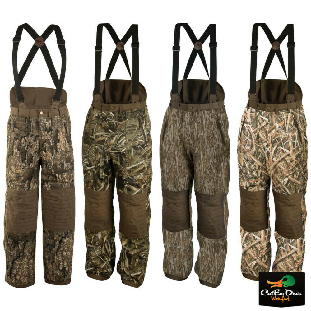 6e733c9851f70 DRAKE WATERFOWL SYSTEMS GUARDIAN ELITE HIGH BACK HUNT PANTS INSULATED | eBay