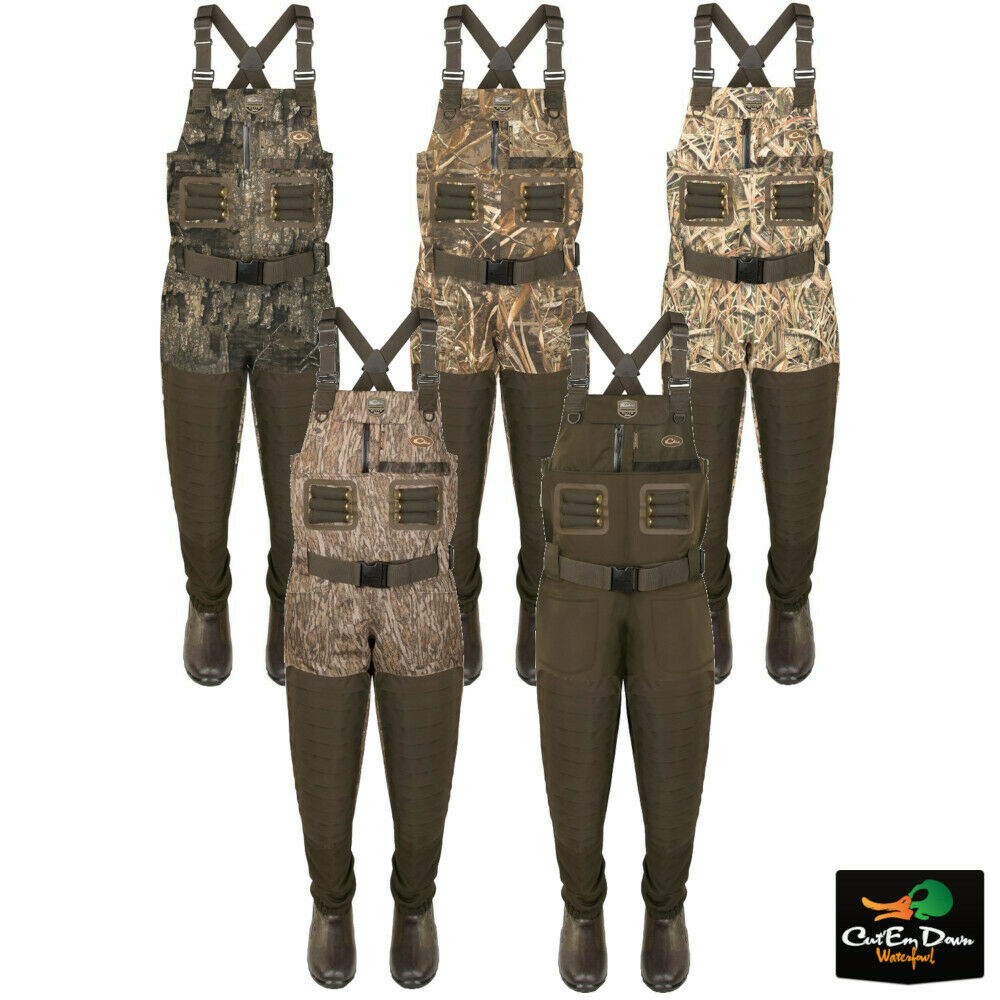 8695952f60fd8 Details about DRAKE WATERFOWL GUARDIAN ELITE UNINSULATED BREATHABLE CAMO  CHEST WADERS