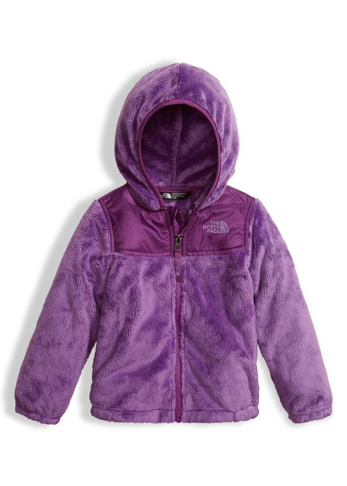 a65176229240 Details about The North Face Bellflower Purple Oso Fleece Hoodie Girls 0-3  NWT  65