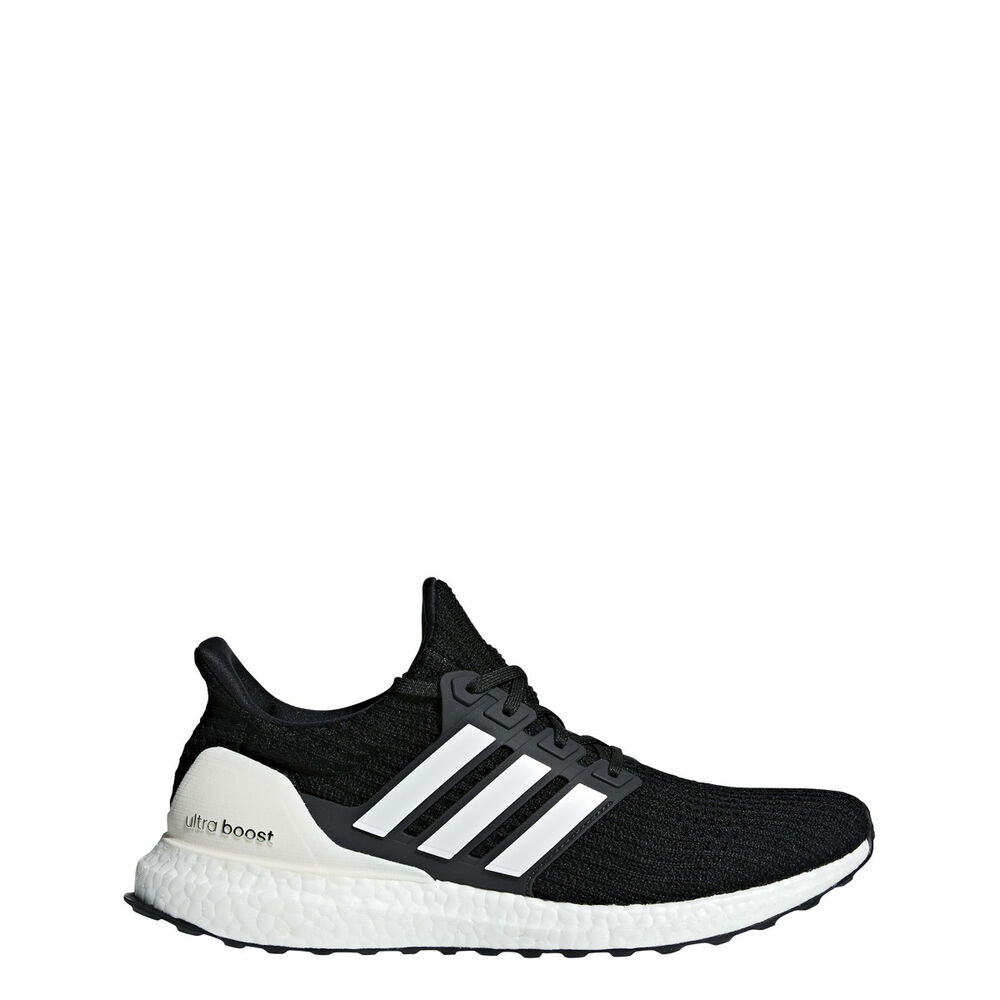 9fcd42bffa3 Details about  AQ0062  New Men s ADIDAS UltraBoost Ultra Boost 4.0 Running  Sneaker Black White
