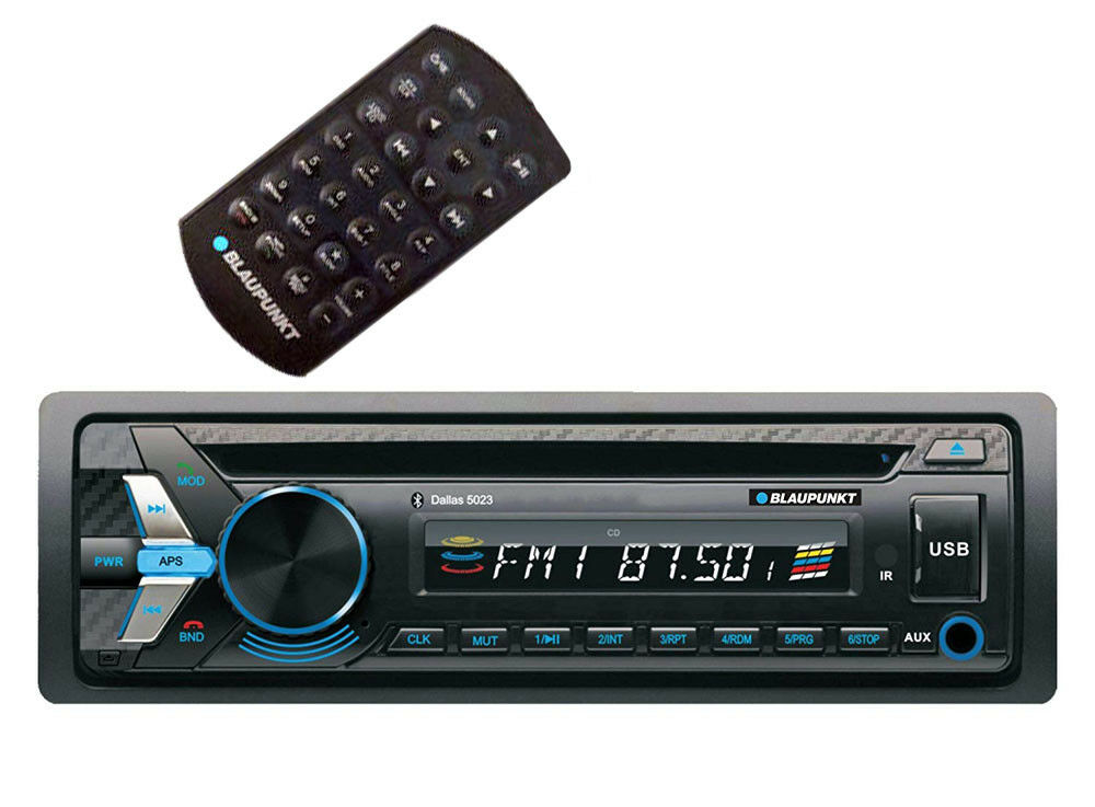 blaupunkt dallas5023 1din cd mp3 am fm aux bluetooth. Black Bedroom Furniture Sets. Home Design Ideas