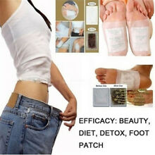 10X Detox Foot Pads Patch Detoxify Toxins Health Care Adhesive Keeping Fit US