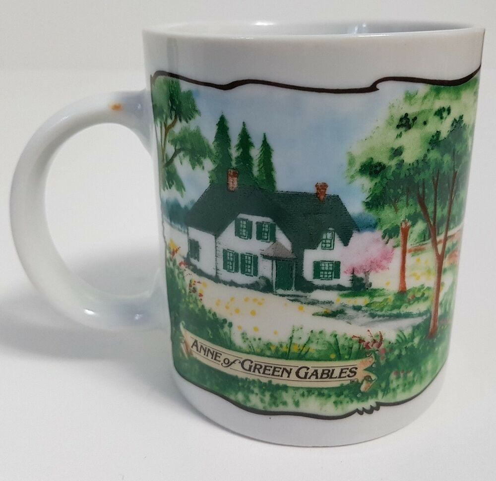 Anne Of Green Gables Coffee Mug Cup Avonlea Traditions