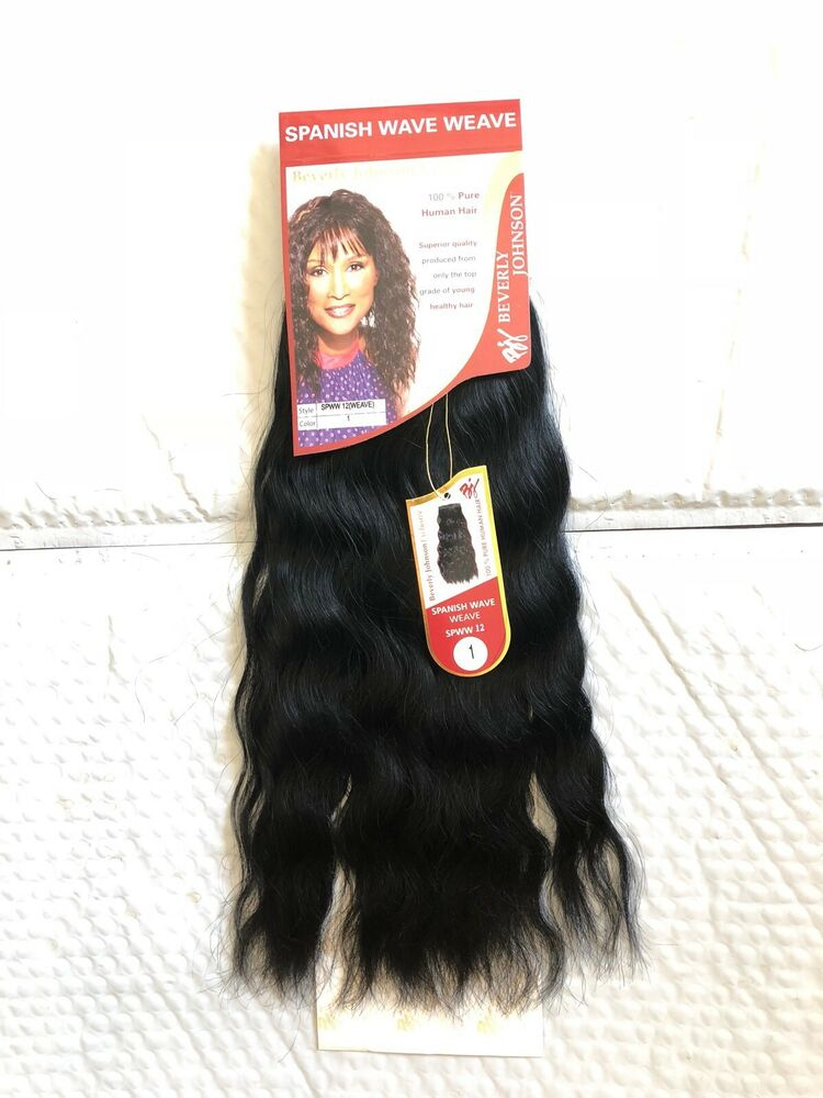 100 Human Hair For Weaving Spanish Wave Weave Beverly Johnson