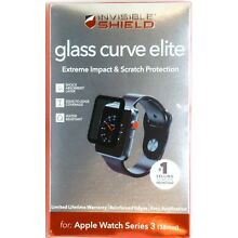 Zagg InvisibleShield Glass Curve Elite for Apple Watch Series 3 (38mm)