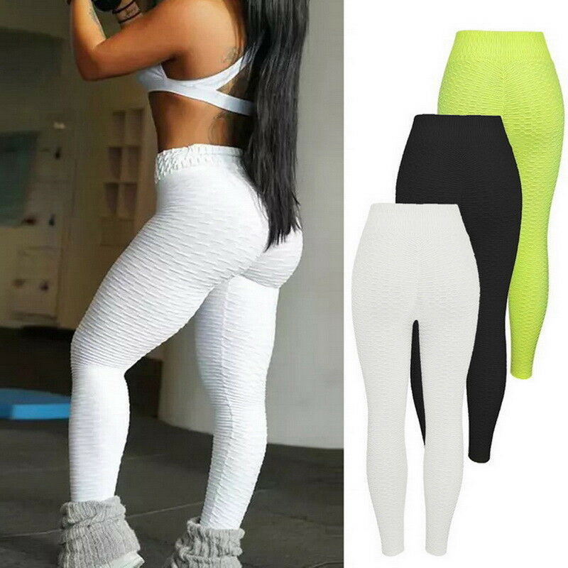 2d754d3c3779f Details about Womens Butt Lifter Yoga Pants Hip Push-Up Leggings Jegging  Fitness Trousers Slim