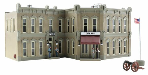 Woodland Scenics BR5030, HO Scale, Municipal Building, Built-&-Ready