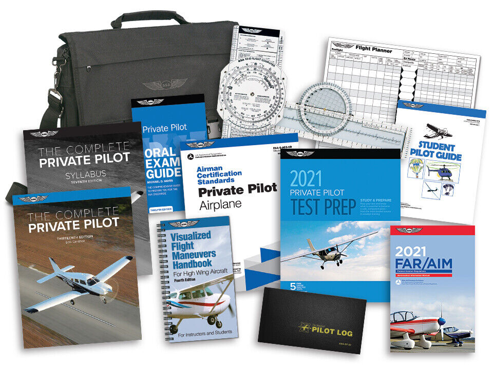 d1c75b3965b ASA student pilot kits provide the books and supplies a student pilot needs  to complete training at an exceptional value. The Part 61 student kit  ensures ...