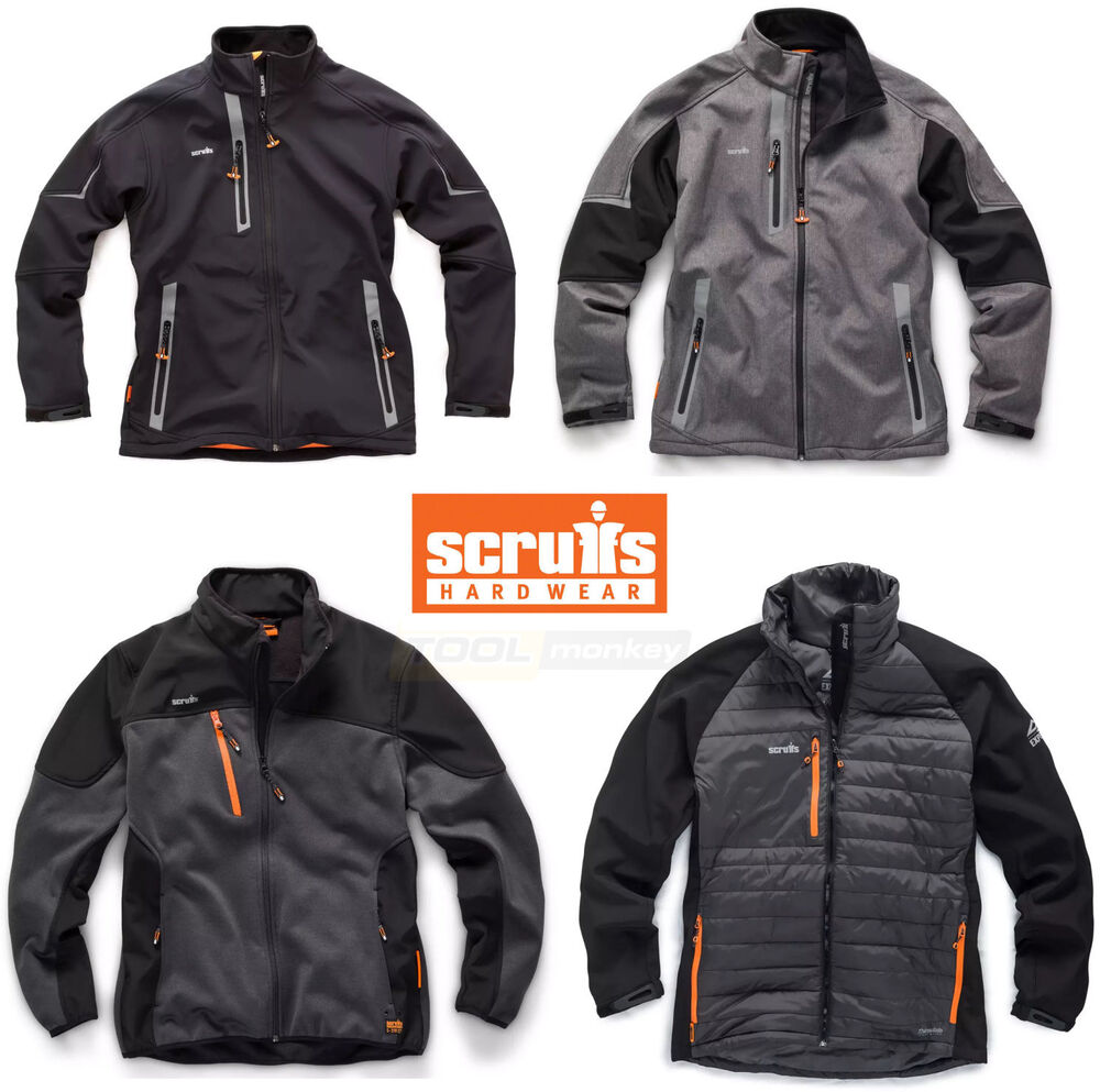 e35620b769 Details about Scruffs Softshell Work Jackets - Pro   Trade   Tech   Thermo    Winter