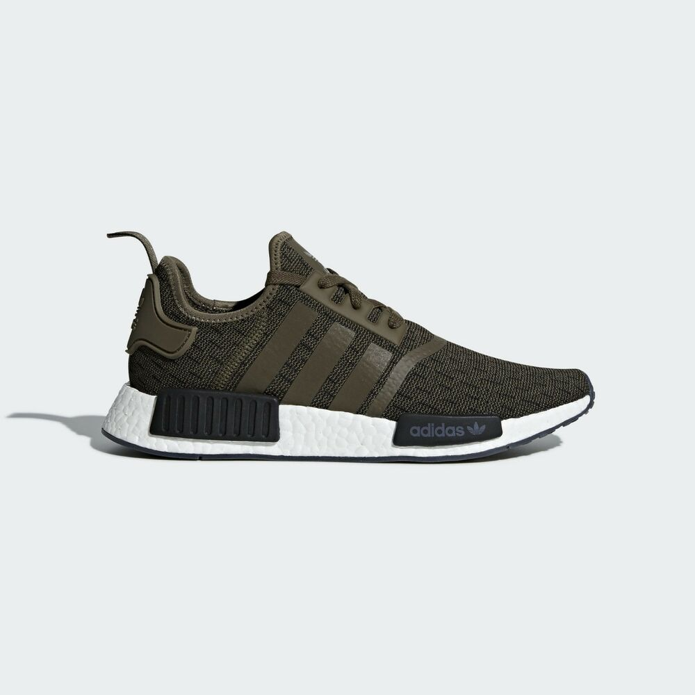 9a720d32a Details about adidas Originals NMD R1 Shoes AQ1018 Olive Green Army Cargo  Boost Men NIB
