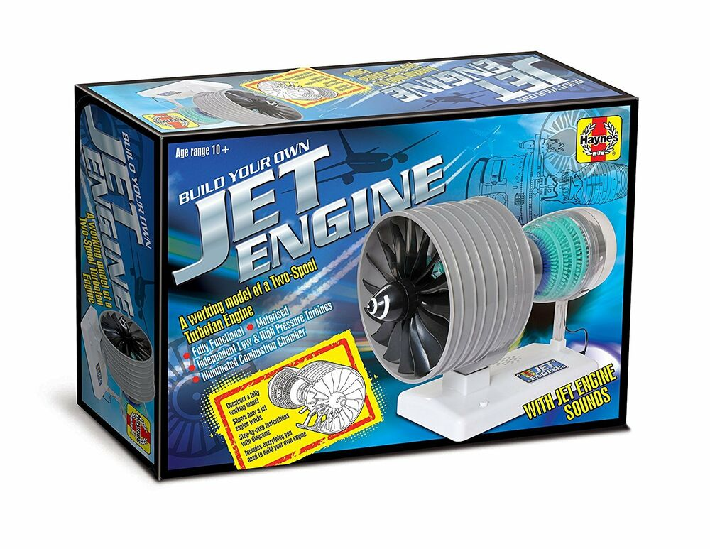 Haynes Jet Engine Stem Project Build Your Own Fully Working