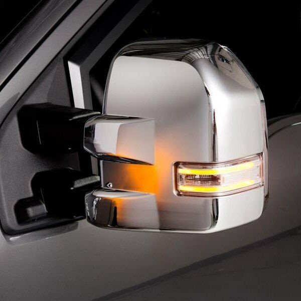 For Ford F 150 2018 2019 Putco Chrome Towing Mirror Covers