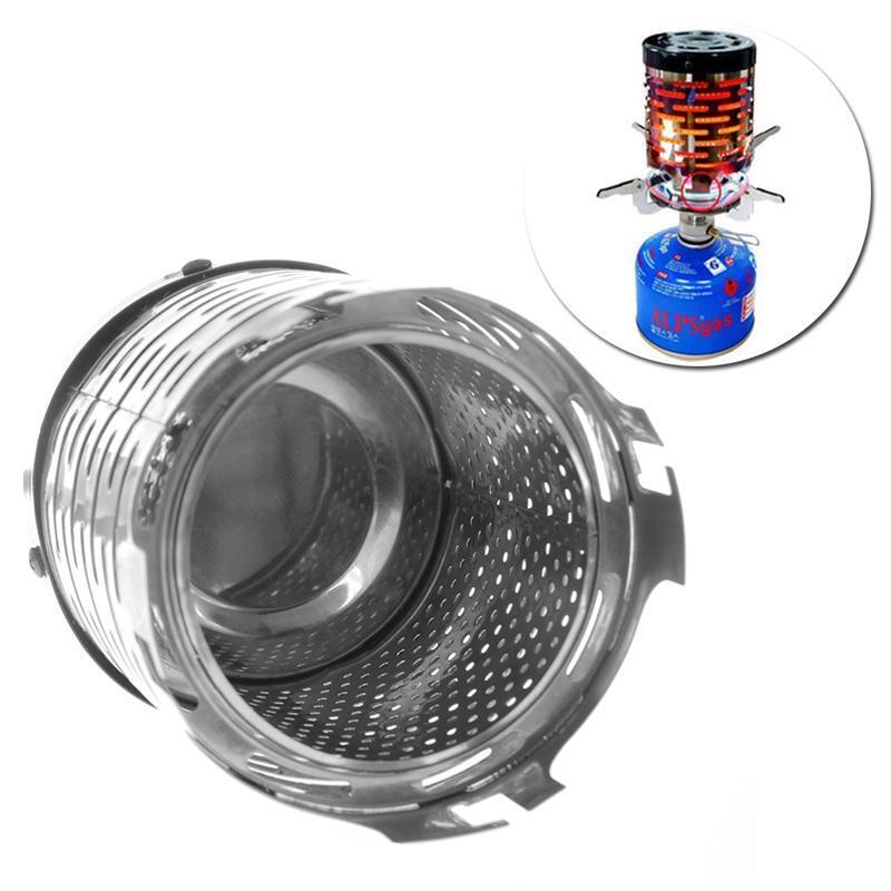 Protable Camping Tent Heater Cap Butane Gas Stove Warmer Heating Cover YU