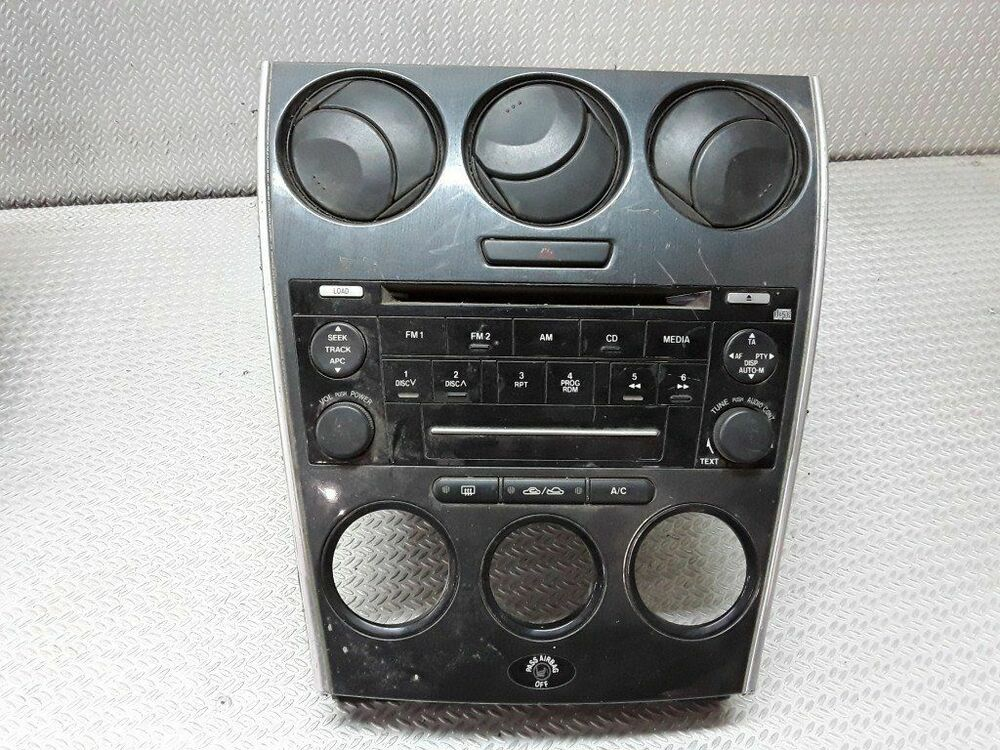 Mazda 6 2004 Diesel Radio Cddvd Gps Head Unit Ff011212 100kw Rhebaycouk: 2004 Mazda 6 Radio No Volume At Gmaili.net