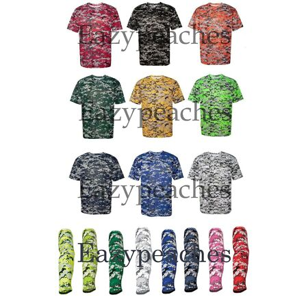 img-Badger B-Core Digital Camo Sport T-Shirt S-4XL, YOUTH, OR ARMSLEEVE wicking 180