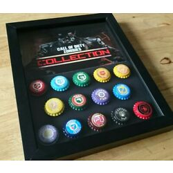 Kyпить Call of Duty zombies perks, Black Ops 1,2,3,4 perk a cola, in a shadowbox на еВаy.соm