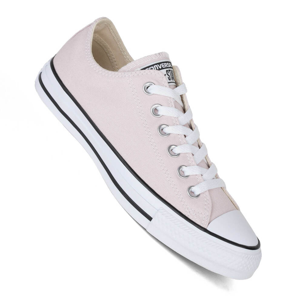 ee14a1f149ff Details about Converse Ladies Shoes Chucks Lo Rosa Barely Rose