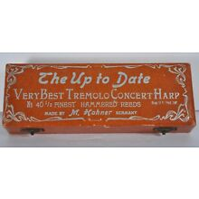 Vintage Hohner Tremolo Concert Harp Up To Date BOX ONLY Germany Pre War 46 1/2