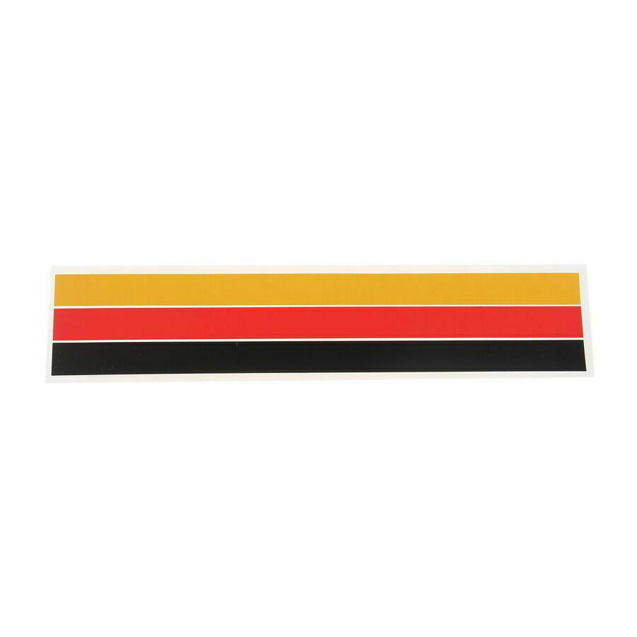 Details about 9 88 front grill grille lining strips sticker decal german flag for bmw k