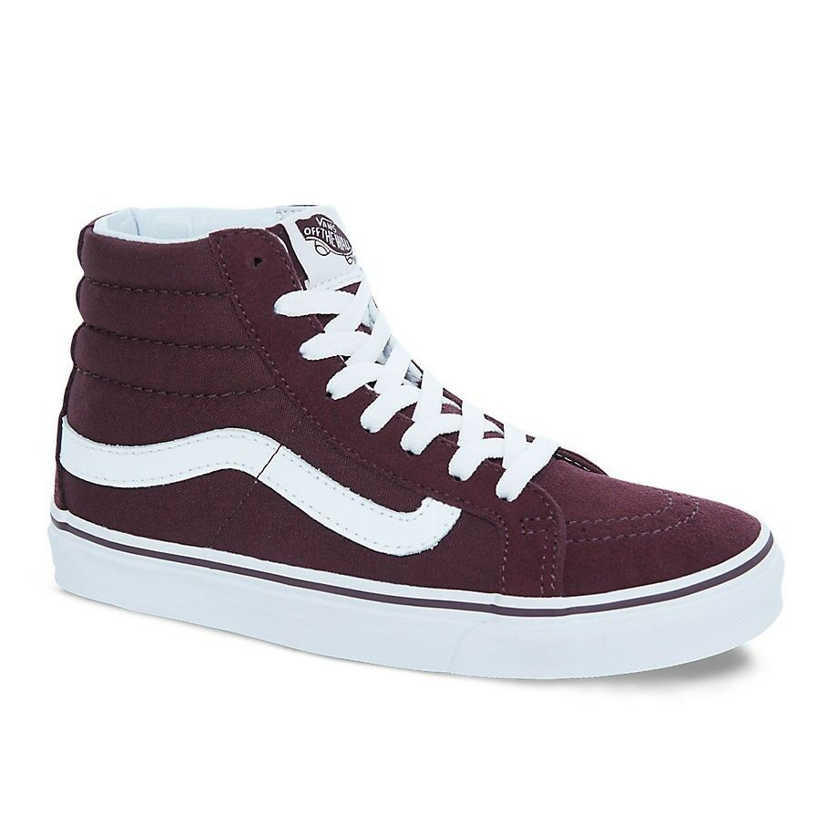 Details about Vans SK8 Hi Slim Skate Shoes Iron Brown Unisex M 8.5   W 10 462d36da5