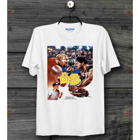 img-Stallone Over The Top 80s Film Poster Rocky Rambo Cool UNISEX T Shirt