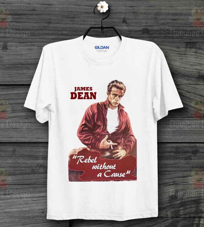 aea1ad394 Details about James Dean Rebel Without A Cause Film Cool Vintage Unisex T  Shirt B307