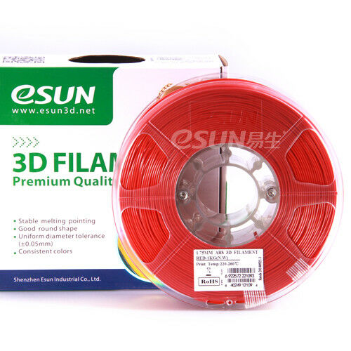 Filamento ABS   Rosso 1.75mm 1Kg