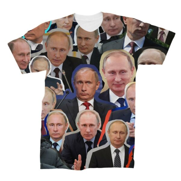 Vladimir Putin Collage T-Shirt
