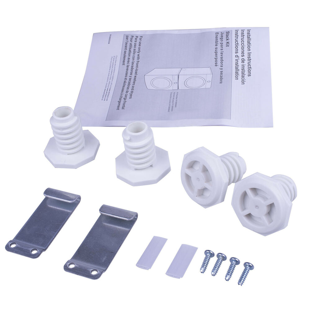 New Laundry Stacking Kit For Whirlpool Kenmore Maytag