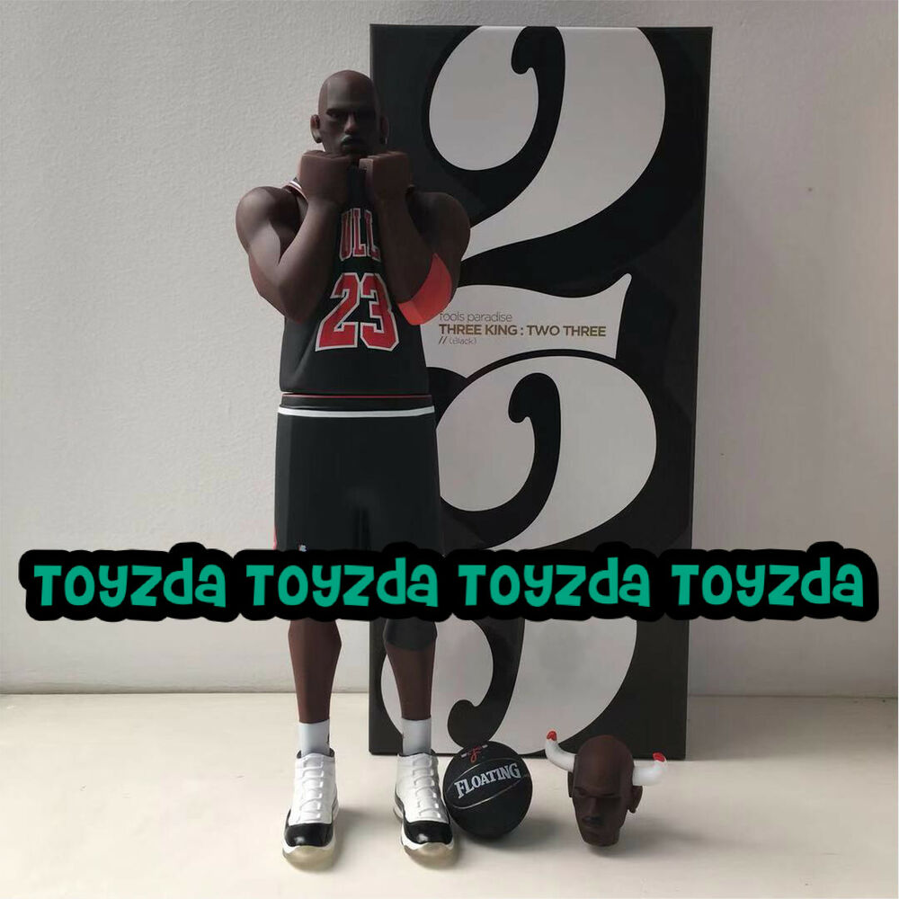 557618ac784 Details about [Black Colour] Fools Paradise THREE KING TWO THREE Jordan No.  23 figure 1pc