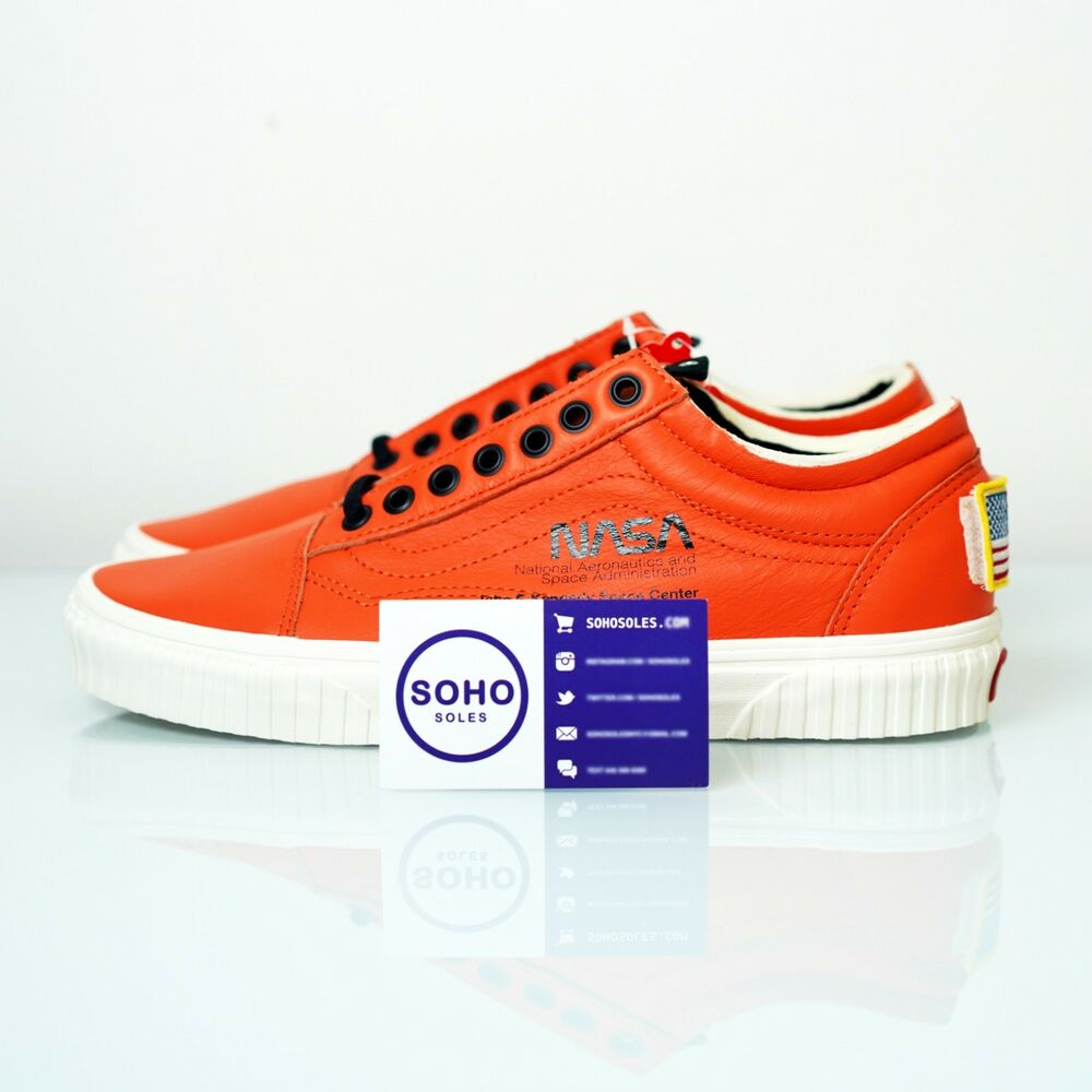 Details about NASA x Vans Old Skool Space Voyager Firecracker Orange  VN0A38G1UPA - Size 8-12 a4e0589d2