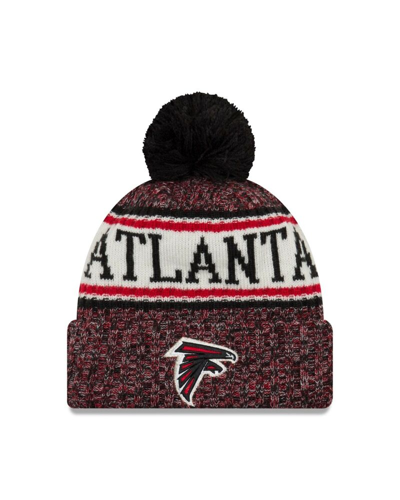 814a9b848 Details about Atlanta Falcons New Era 2018 Sport Knit Sideline Knit Hat- Red