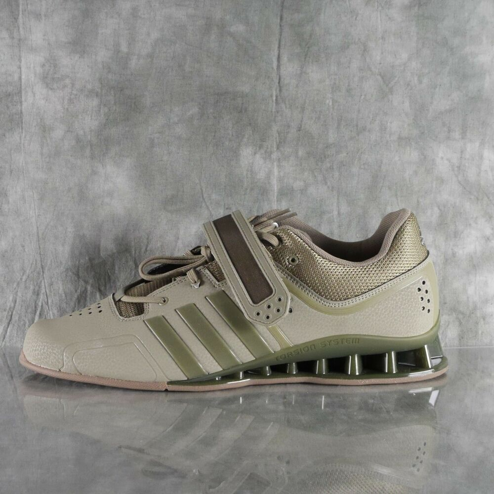 Details about Adidas DA9874 AdiPower Weightlift MILITARY ARMY GREEN TRACE  CARGO GUM SZ 14 ANB 1f708ce51