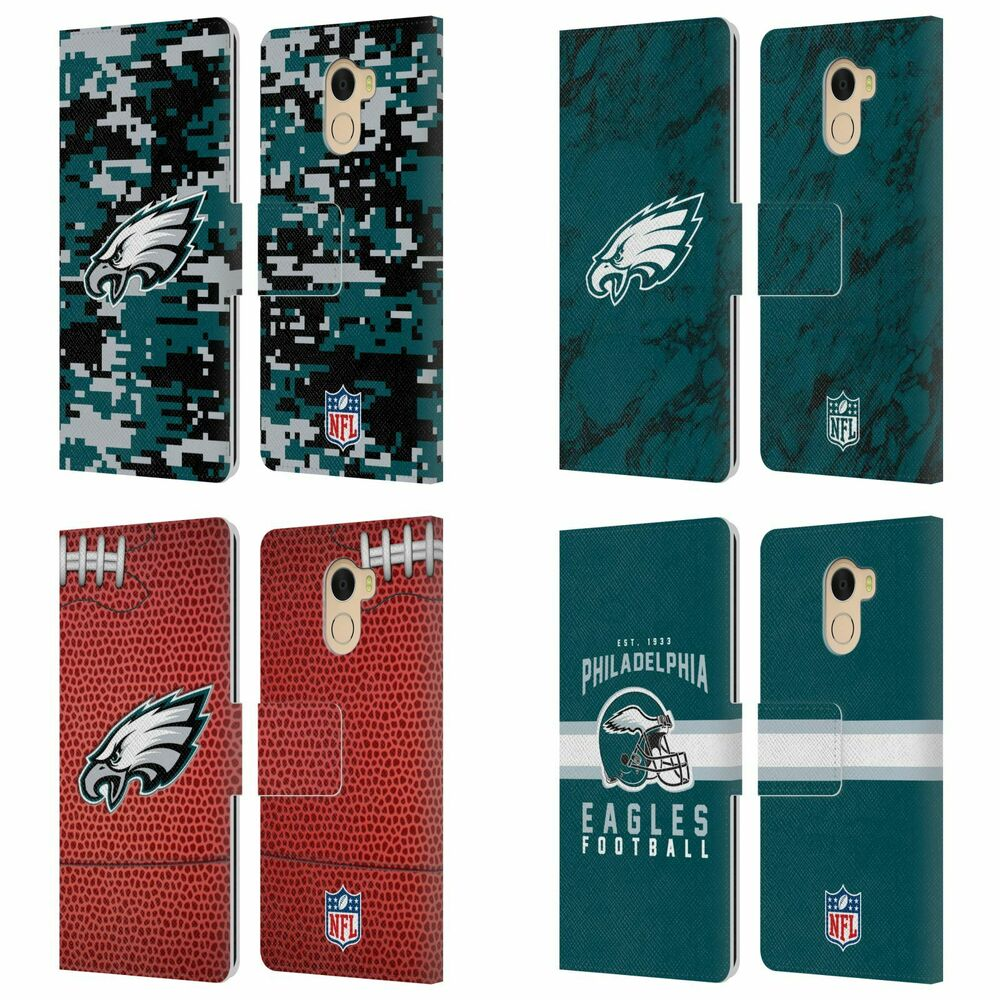 Details about NFL 2018 19 PHILADELPHIA EAGLES LEATHER BOOK CASE FOR  WILEYFOX   ESSENTIAL 70ff9c287