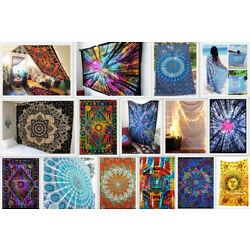 Kyпить 25 Pcs Wholesale Lot Indian Mandala Tapestry Wall Hanging Decor Twin Bedspread на еВаy.соm