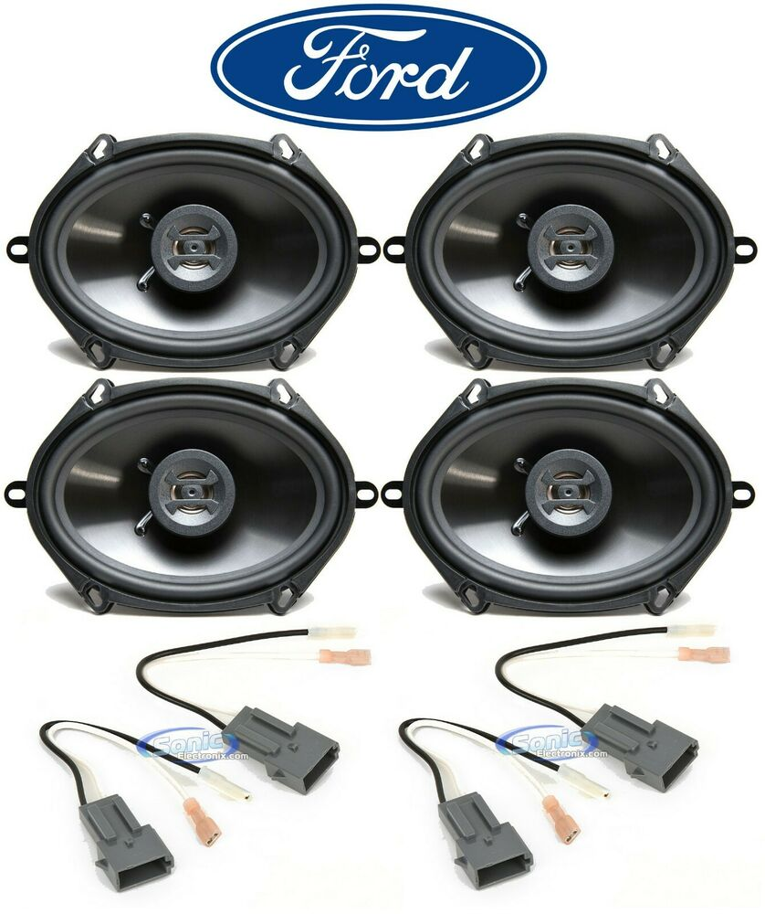 Details About Hifonics 6x8 Front Rear Factory Speaker Replacement For 1998 2001 Ford Explorer