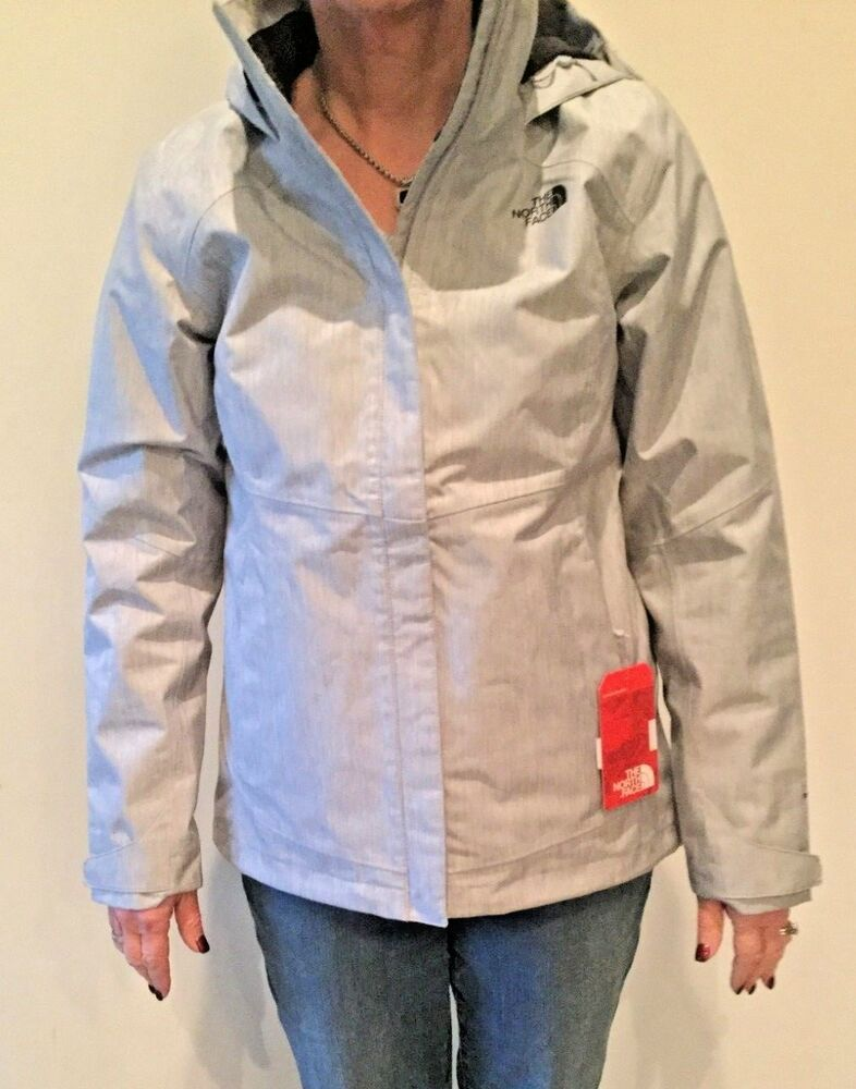 c9c800709d21 2018 North Face Women s Morialta Rain Jacket Medium in TNF Light Grey  Heather