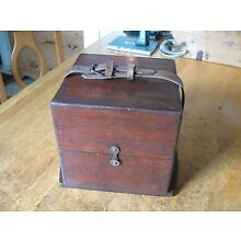 LEATHER BELT ONLY FOR A MARINE CHRONOMETER SHIPS DECK WATCH OUTER CARRYING BOX