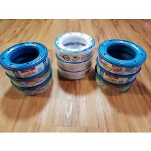 Lot of 9 DIAPER GENIE 270 ct Refills FREE SHIPPING