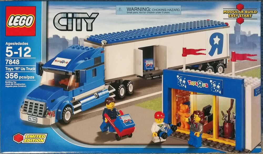 "BoxEbay ""r"" Us Factory Toys City Truck7848In New Lego Sealed PuXkiTlwZO"
